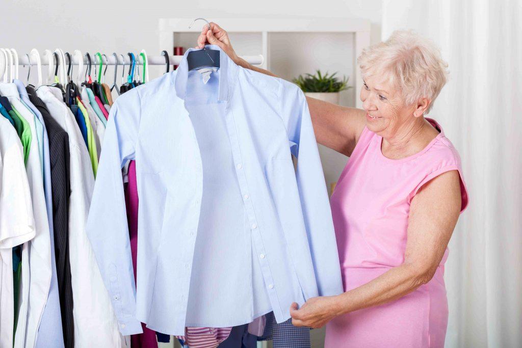 Alzheimer e vestiti