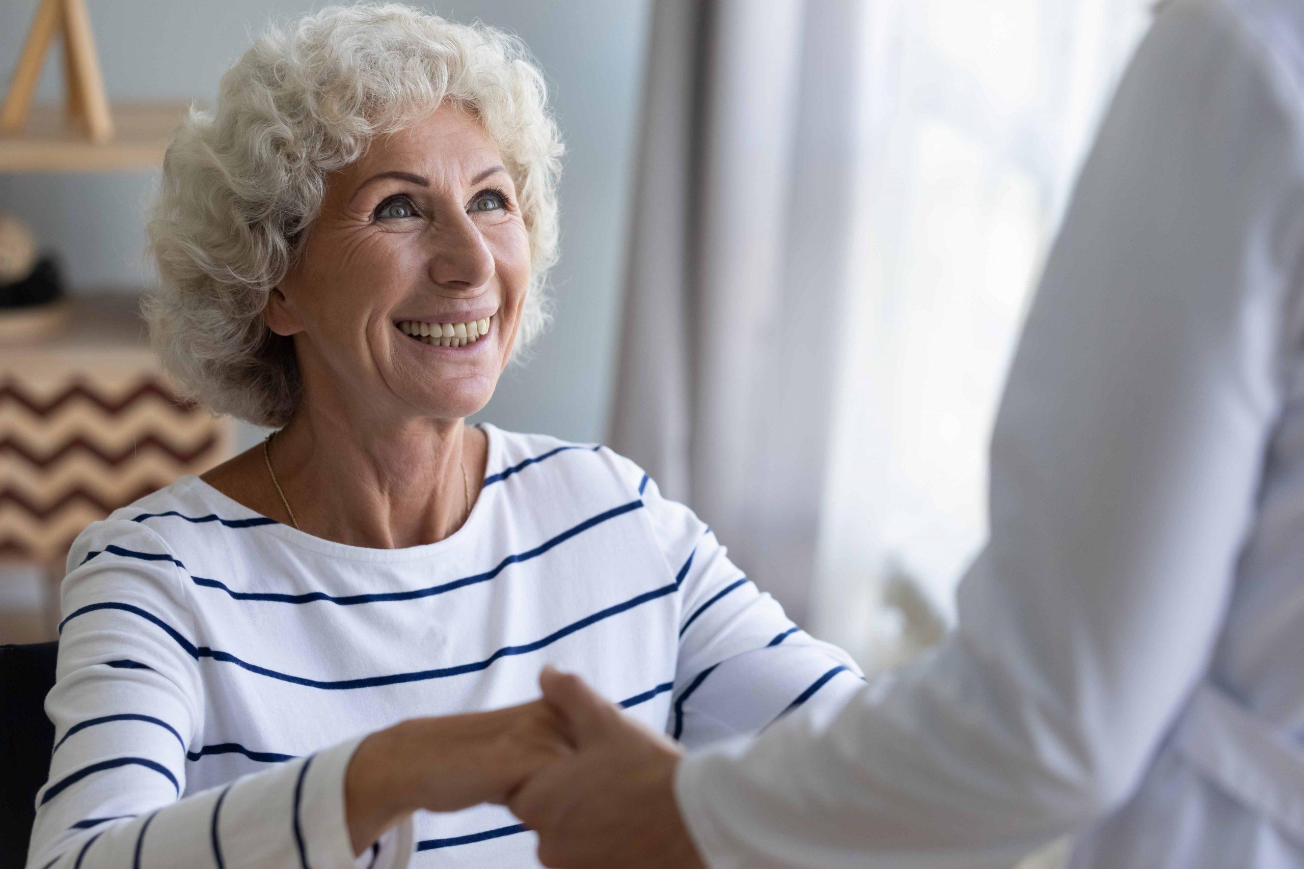 sollevare un malato di Alzheimer